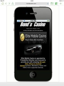 Mobile casino welcome bonus