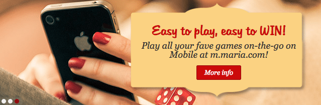 Maria Online Casino Mobile Games