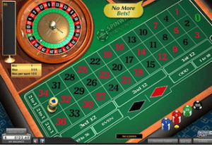 Total Gold Roulette