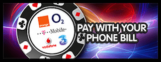 mFortune Roulette Pay by Phone Bill